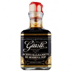 fronte Aceto Balsamico di Modena I.G.P. - Etichetta nera 250 ml G. Giusti