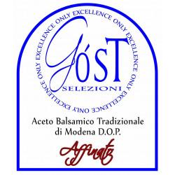 logo Aceto Balsamico Tradizionale di Modena D.O.P. - Affinato 100 ml Selezioni Góst