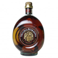 Brandy Etichetta Nera Vecchia Romagna 70 cl - Distilleria Giovanni Buton
