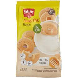 Hoops Biscotti Con Miele Senza Glutine 200 gr - Schär