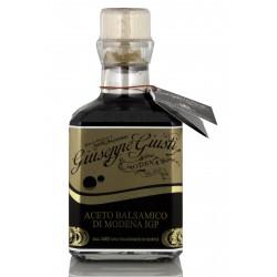 fronte Aceto Balsamico di Modena I.G.P. - Denso etichetta oro  250 ml G. Giusti
