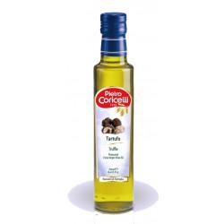 Condimento con Olio Extra Vergine di Oliva Aromatizzato al Tartufo 250 ml - Pietro Coricelli