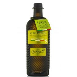 Olio extravergine d'oliva oro verde 100% italiano 100 cl - Carapelli