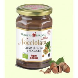 "Crema al cacao e nocciola ""Nocciolata"" 270 gr - Rigoni di Asiago"