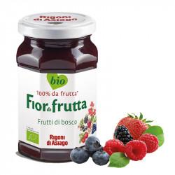 Confettura bio Frutti di bosco Fiordifrutta 250 gr - Rigoni di Asiago