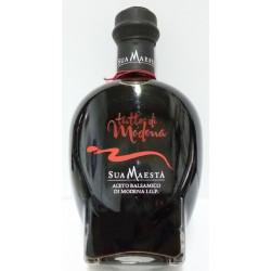 """vecchia etichetta Aceto balsamico di modena I.G.P. - """"Tutto di modena"""" 250 ml Sua maestà"""