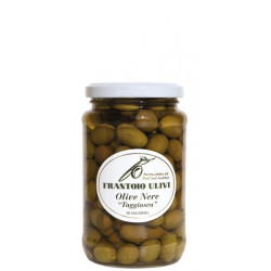 Olive nere taggiasche in salamoia 200 gr - Frantoio Ulivi di LIguria