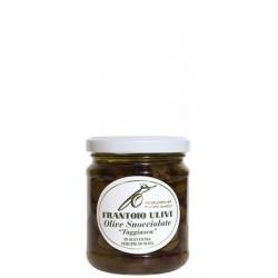 Olive taggiasche snocciolate in olio extra vergine di oliva 180 gr - Frantoio Ulivi di Liguria