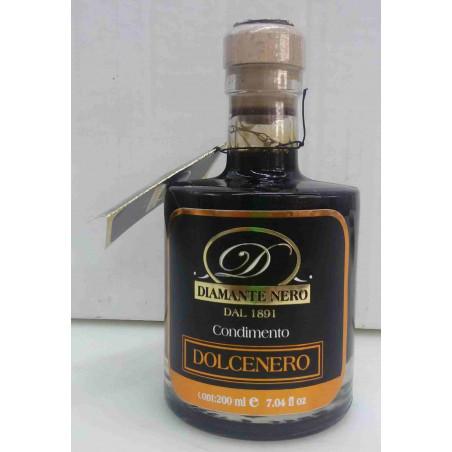 fronte Condimento balsamico - dolce nero 200ml Acetaia Dodi