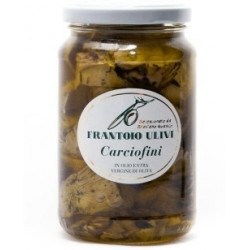 Carciofi alla brace in olio extravergine d'oliva  340 gr - Frantoio Ulivi di Liguria