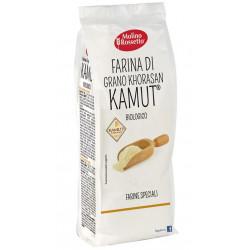 Farina biologica di grano KHORASAN Kamut 400 gr - Molino Rossetto